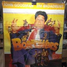 Cine: LOS BORROWERS - JOHN GOODMAN - JIM BROADBENT - CARTEL DE CINE ORIGINAL 70X100. Lote 236270660