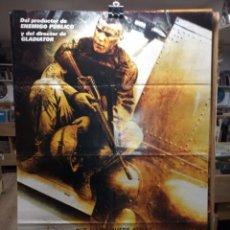 Cinema: BLACK HAWK DERRIBADO - CARTEL DE CINE ORIGINAL 70X100. Lote 236272830
