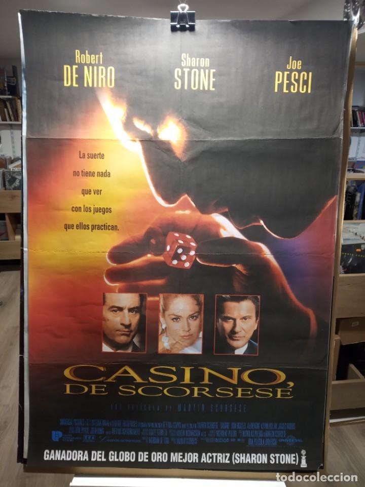 CASINO DE SCORSESE - ROBERT DE NIRO - SHARON STONE - JOE PESCI - CARTEL DE CINE ORIGINAL 70X100 (Cine - Posters y Carteles - Suspense)
