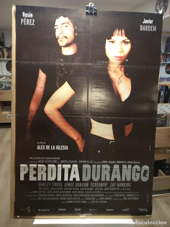 PERDITA DURANGO - ROSIE PEREZ- JAVIER BARDEN - ALEX DE LA IGLESIA - CARTEL DE CINE ORIGINAL 70X100 (Cine - Posters y Carteles - Suspense)