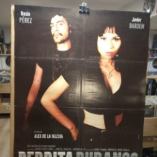Cine: PERDITA DURANGO - ROSIE PEREZ- JAVIER BARDEN - ALEX DE LA IGLESIA - CARTEL DE CINE ORIGINAL 70X100. Lote 236273200