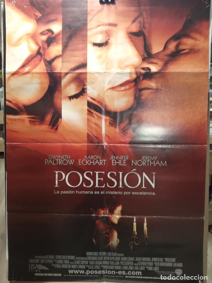 POSESION - GWYNETH PALTROW, AARON ECKHART - JENNIFER EHLE - JEREMY N- CARTEL DE CINE ORIGINAL 70X100 (Cine - Posters y Carteles - Suspense)