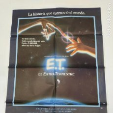 Cine: CARTEL DE LA PELICULA E.T. EL EXTRATERRESTRE. STEVEN SPIELBERG. TDKP23H. Lote 236345170