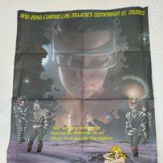Cine: CARTEL DE LA PELICULA SEX MISSION. SEXMISSION. MISION EN EL FUTURO. JULIUSZ MACHULSKI. TDKP23H. Lote 236350895