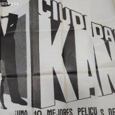 Cine: TRIPLE CARTEL DE LA PELICULA CIUDADANO KANE. 3 HOJAS. TDKP23H. Lote 236353370
