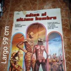 Cine: ADIÓS AL ÚLTIMO HOMBRE PÓSTER ORIGINAL. Lote 236404530