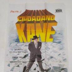 Cine: CARTEL DE LA PELICULA CIUDADANO KANE. ORSON WELLS. TDKP23H. Lote 236412975