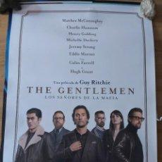 Cine: THE GENTLEMAN - APROX 70X100 CARTEL ORIGINAL CINE (L81). Lote 236447445