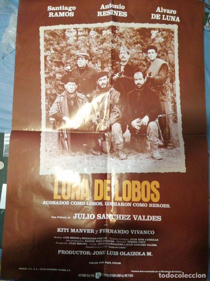 LUNA DE LOBOS (Cine - Posters y Carteles - Comedia)