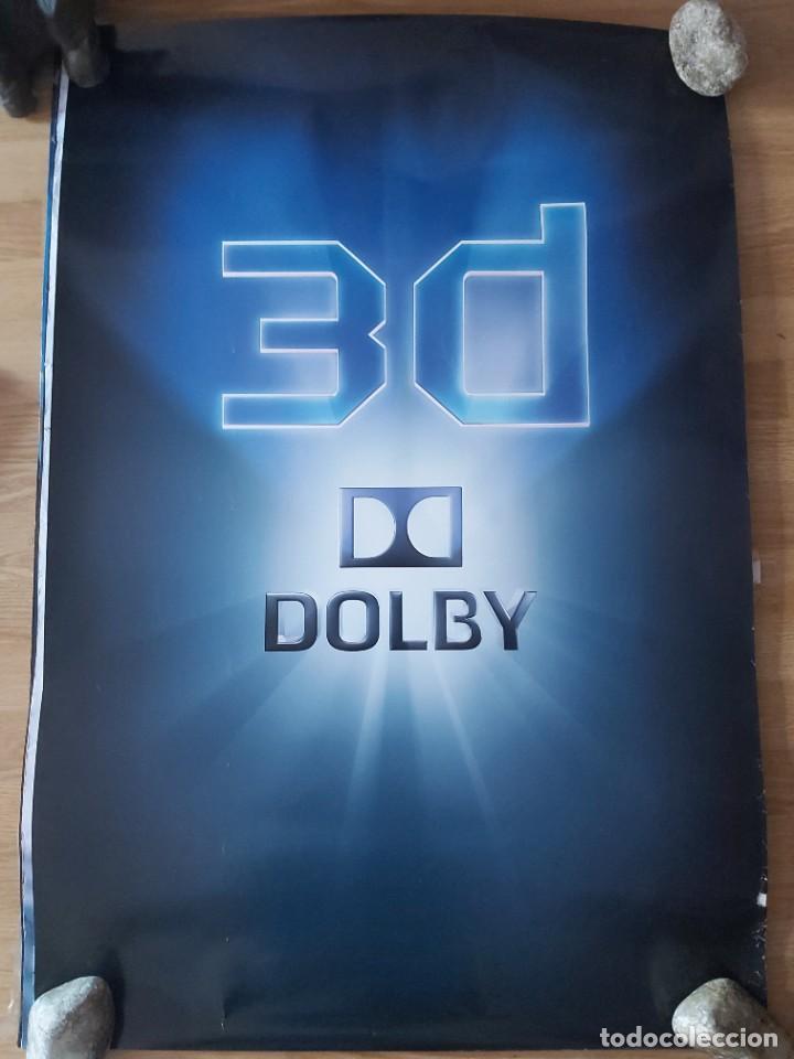 DOLBY 3D - APROX 70X100 CARTEL ORIGINAL CINE (L81) (Cine - Posters y Carteles - Documentales)