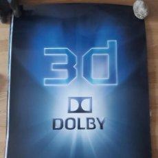 Cine: DOLBY 3D - APROX 70X100 CARTEL ORIGINAL CINE (L81). Lote 236454400