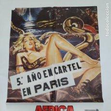 Cine: CARTEL DE LA PELICULA ÁFRICA EXCITACIÓN - KAREN ROCHE - MARY ALEXANDER. TDKP23F. Lote 236462970