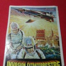 Cine: ANTIGUO CARTEL DE CINE ,INVASION EXTRATERRESTRE ,DIRIGIDA ISIHORO HONDA. Lote 236542170
