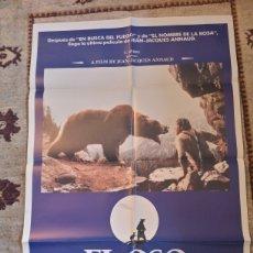 Cine: CARTEL EL OSO 1988 JEAN-JACQUES ANNAUD. Lote 236547460