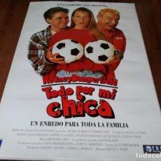 Cine: TODO POR MI CHICA - RODNEY DANGERFIELD,VINESA SHAW,JONATHAN BRANDIS POSTER ORIGINAL TRIPICTURES 1992. Lote 236590145