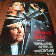 Cine: LA NOCHE DE LOS CRISTALES ROTOS - TOM BERENGER,GRETA SCACCHI,BOB HOSKINS POSTER ORIGINAL UNION 1991. Lote 236598390