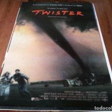Cine: TWISTER - HELEN HUNT, BILL PAXTON, CARY ELWES, JAMI GERTZ, JAN DE BONT - POSTER ORIGINAL U.I.P 1996. Lote 262188745