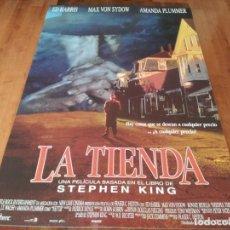 Cine: LA TIENDA - MAX VON SYDOW, ED HARRIS, BONNIE BEDELIA - POSTER ORIGINAL FILMAYER 1993. Lote 236611245