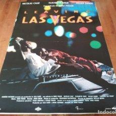 Cine: LEAVING LAS VEGAS - NICOLAS CAGE, ELISABETH SHUE, JULIAN SANDS - POSTER ORIGINAL ALTA FILMS 1995. Lote 236613010