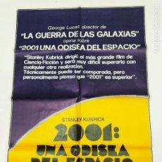 Cine: CARTEL ORIGINAL DE LA PELICULA 2001 UNA ODISEA DEL ESPACIO. KEIR DULLEA. STANLEY KUBRICK. TDKP23E. Lote 236645540