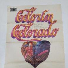 Cine: CARTEL DE LA PELICULA COLORIN COLORADO - TERESA RABAL - JUAN DIEGO - FIORELLA FALTOYANO. TDKP23C. Lote 236656540