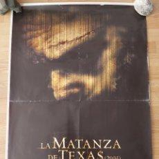 Cine: LA MATANZA DE TEXAS - APROX 70X100 CARTEL ORIGINAL CINE (L82). Lote 236742735