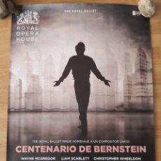 Cine: OPERA: CENTENARIO DE BERNSTEIN - APROX 70X100 CARTEL ORIGINAL CINE (L82). Lote 236742970