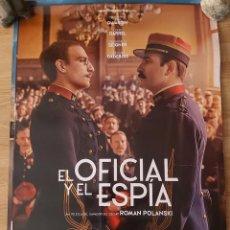 Cine: EL OFICIAL Y EL ESPIA - APROX 70X100 CARTEL ORIGINAL CINE (L82). Lote 236743395