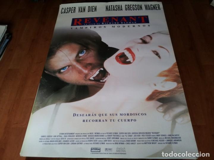 REVENANT VAMPIROS MODERNOS - CASPER VAN DIEN, NATASHA GREGSON WAGNER - POSTER ORIGINAL SHERLOCK 1998 (Cine - Posters y Carteles - Terror)