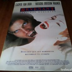 Cine: REVENANT VAMPIROS MODERNOS - CASPER VAN DIEN, NATASHA GREGSON WAGNER - POSTER ORIGINAL SHERLOCK 1998. Lote 236770000