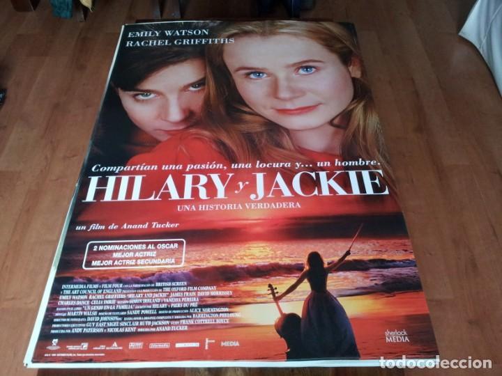 HILARY Y JACKIE - EMILY WATSON, RACHEL GRIFFITHS, JAMES FRAIN - POSTER ORIGINAL SHERLOCK 1998 (Cine- Posters y Carteles - Drama)