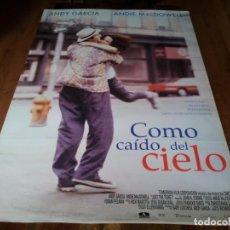 Cine: COMO CAÍDO DEL CIELO - ANDY GARCÍA, ANDIE MACDOWELL, RICHARD BRADFORD - POSTER ORIGINAL AURUM 1999. Lote 236773870