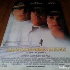 Cine: ALGUNOS HOMBRES BUENOS - TOM CRUISE, DEMI MOORE, JACK NICHOLSON - POSTER ORIGINAL COLUMBIA 1992. Lote 236777240