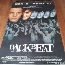 Cine: BACKBEAT - STEPHEN DORFF, IAN HART, SHERYL LEE - POSTER ORIGINAL U.I.P 1994 HISTORIA 5º BEATLES. Lote 236780470