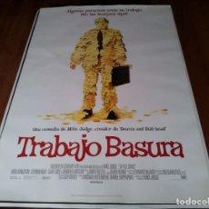 Cine: TRABAJO BASURA - RON LIVINGSTON, STEPHEN ROOT, JENNIFER ANISTON - POSTER ORIGINAL FOX 1999. Lote 236782250
