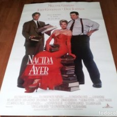 Cine: NACIDA AYER - MELANIE GRIFFITH, DON JOHNSON, JOHN GOODMAN - POSTER ORIGINAL CB FILMS 1993. Lote 236786540