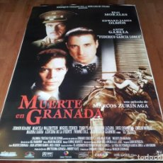 Cine: MUERTE EN GRANADA - ANDY GARCÍA, EDWARD JAMES OLMOS, ESAI MORALES - POSTER ORIGINAL COLUMBIA 1996. Lote 236787675