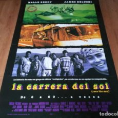 Cine: LA CARRERA DEL SOL - HALLE BERRY, JAMES BELUSHI, BILL HUNTER - POSTER ORIGINAL COLUMBIA 1996. Lote 236788680