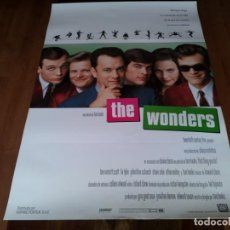 Cine: THE WONDERS - TOM EVERETT SCOTT, LIV TYLER, JOHNATHON SCHAECH, TOM HANKS - POSTER ORIGINAL FOX 1996. Lote 236796140