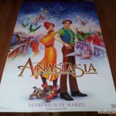 Cine: ANASTASIA - ANIMACION - DIR. DON BLUTH - POSTER ORIGINAL FOX 1997. Lote 236796855