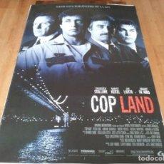 Cine: COP LAND - SYLVESTER STALLONE,HARVEY KEITEL,RAY LIOTTA, ROBERT DE NIRO - POSTER ORIGINAL LAUREN 1997. Lote 236799435