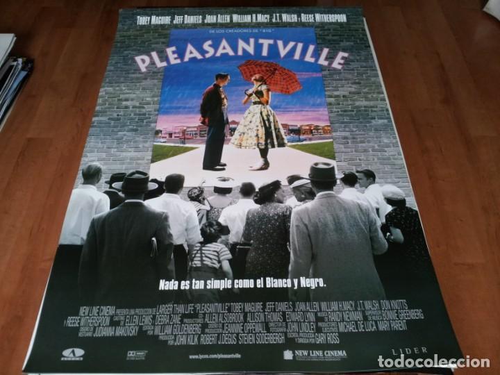 PLEASANTVILLE - TOBEY MAGUIRE,JEFF DANIELS,REESE WITHERSPOON,JOAN ALLEN - POSTER ORIGINAL AURUM 1998 (Cine - Posters y Carteles - Suspense)