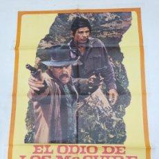 Cine: CARTEL DE LA PELICULA EL ODIO DE LOS MC GUIRE. CHARLES BRONSON. TDKP23A. Lote 236823945