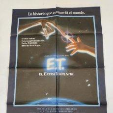 Cine: CARTEL DE LA PELICULA E.T. EL EXTRATERRESTRE. STEVEN SPIELBERG. TDKP23A. Lote 236827255