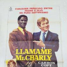 Cine: CARTEL DE LA PELICULA LLAMAME MR. CHARLY. GEORGE SEGAL, SUSAN SAINT JAMES. TDKP22G. Lote 236830520