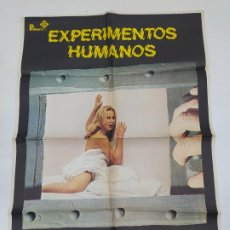 Cine: CARTEL DE LA PELÍCULA EXPERIMENTOS HUMANOS. LINDA HAYNES, GEOFFREY LEWIS. TDKP22G. Lote 236830665