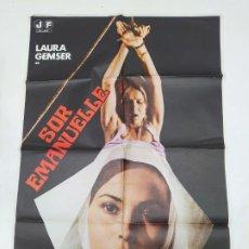 Cine: CARTEL DE LA PELICULA SOR EMANUELLE. LAURA GEMSER, MONICA ZANCHI. TDKP22G. Lote 236830905