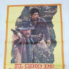 Cine: CARTEL DE LA PELICULA EL ODIO DE LOS MC GUIRE. CHARLES BRONSON. TDKP22G. Lote 236830965