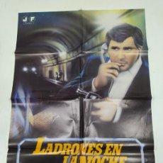 Cine: CARTEL DE LA PELICULA LADRONES EN LA NOCHE. VERONIQUE JANNOT. TDKP22G. Lote 236831330