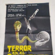 Cine: CARTEL DE LA PELICULA TERROR EN EL CONVENTO. FRANCK GARFEELD. STEFAN OBLOWSKY. TDKP22G. Lote 236831660